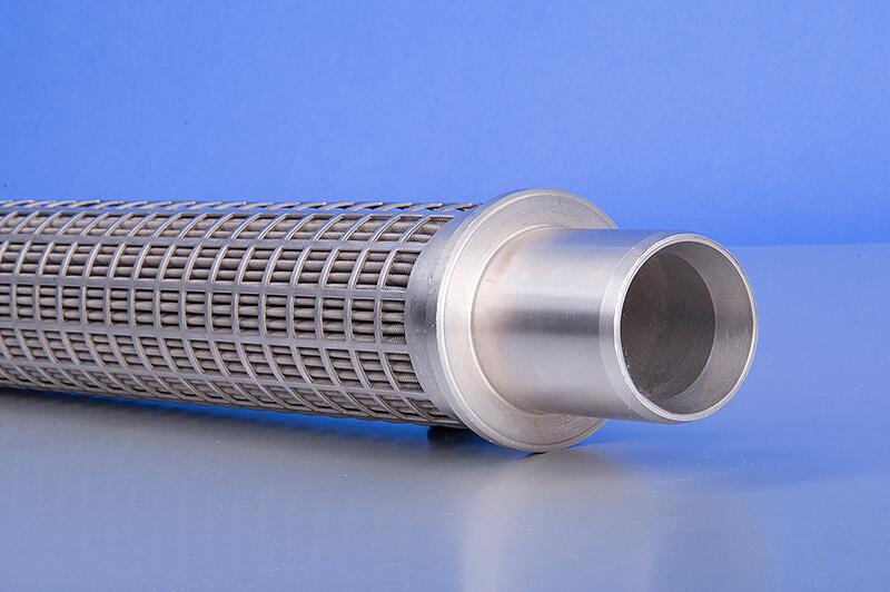 Filterkerze 105 µm, Teilansicht