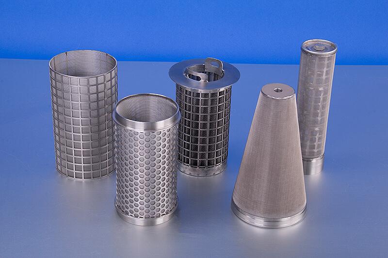 Korb, Filterelemente für die Wasseraufbereitung
