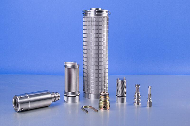 Leitungsfilter, Filterelemente