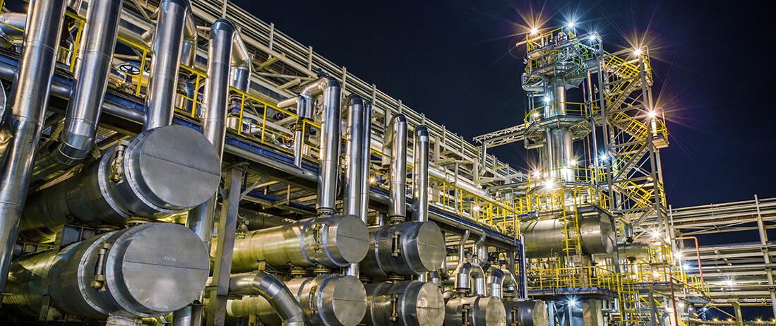 Luftfilter für die Petrochemie